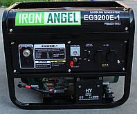 Электрогенератор бензиновый (3,2 кВт) Iron Angel EG 3200 E-1