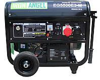Электрогенератор бензиновый Iron Angel EG 5500E3-М