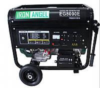 Электрогенератор бензиновый (8 кВт) IRON ANGEL EG 8000 E