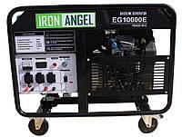 Электрогенератор бензиновый (9,5 кВт) IRON ANGEL EG 10000 E