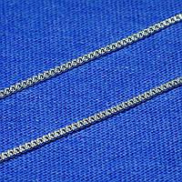 Серебряная цепь Панцирь тонкий 55 см 90101105041, фото 1