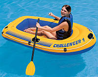 Одноместная надувная лодка Challenger Intex 68365, фото 1