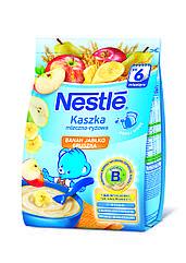 Молочная каша Nestle с рисом  бананом яблоком и грушей с 6 месяцев 180 гр.