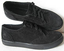 Кеды в стиле Timberland oxford женские Кожа натуральная кроссовки туфли обувь