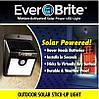 Уличный фонарь на солнечной батарее EverBrite (Эвербрайт) с датчиком движения