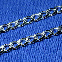 Толстая цепочка из серебра Панцирное плетение 50 см 26,1 грамм 90101115044