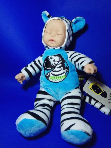 Текстильная кукла - сплюшка Lucky baby, Зебра - Интернет-магазин Happychild в Днепре
