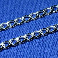 Серебряная цепочка Ромб простой 60 см 90101115044