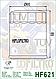 Масляный фильтр Hiflo HF621 для Arctic Cat, фото 2