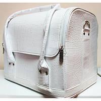 Бьюти-кейс для косметики - CaseLife А-38 Белый Лаковый - A38-WHITE-GLOSS