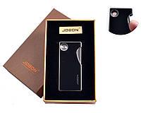 USB зажигалка в подарочной упаковке JOBON (Двухсторонняя, спираль накаливания) №4841-2