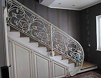 Кованая лестница, ограждение лесницы