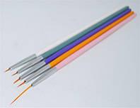 Набор кистей для рисования 5шт KL-1-5 YRE