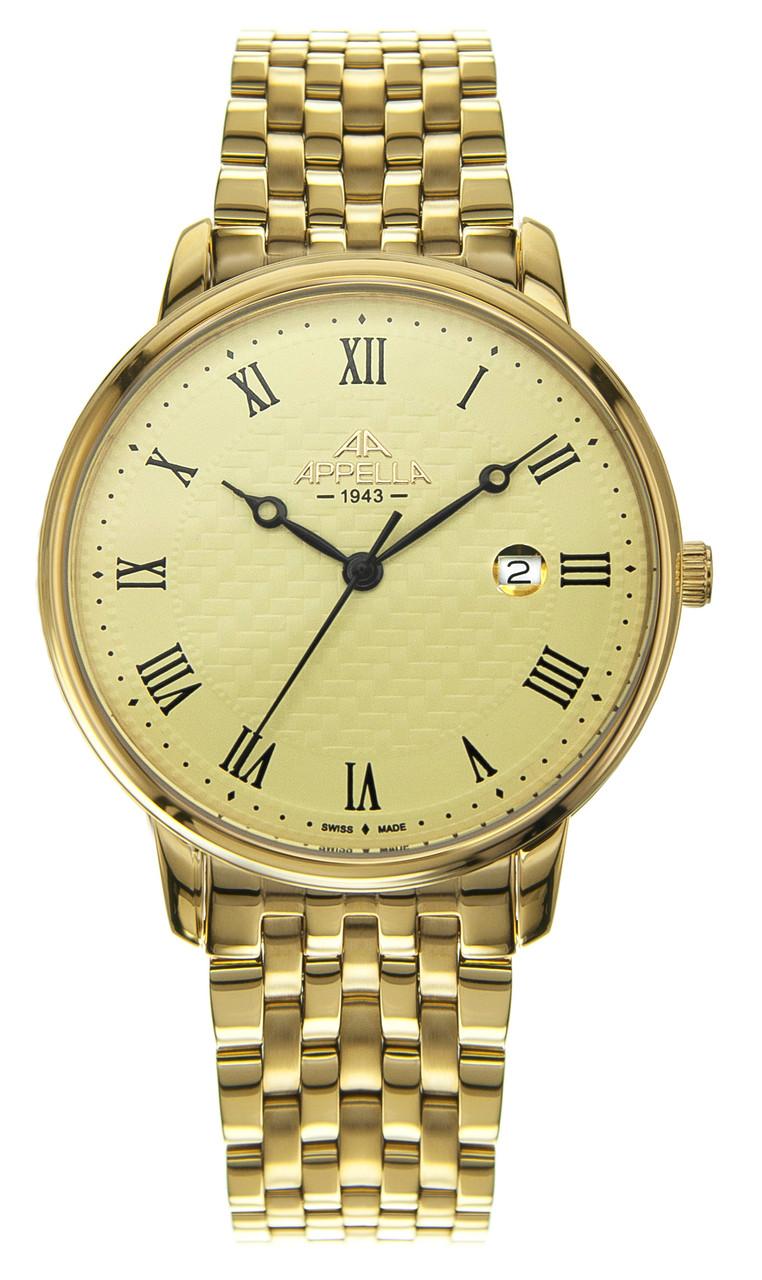 Часы Appella A-4305-1002 кварц. браслет