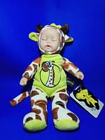 Текстильная кукла - сплюшка Lucky baby, Жираф