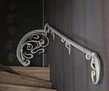 Кованая лестница, ограждение лесницы, фото 2