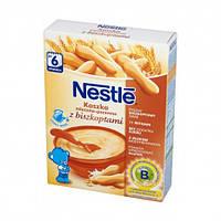 Молочная каша Nestle пшеничная с печеньем с 6 месяцев 250 гр.