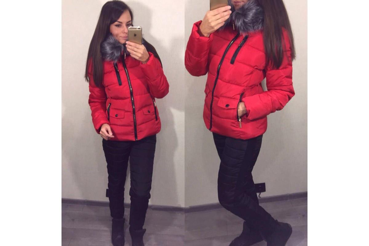 Костюм женский теплый зимний