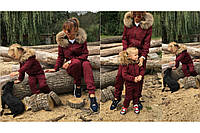 Детский теплый спортивный костюм на девочку