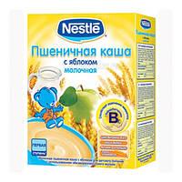 Молочная каша Nestle пшеничная с яблоком с 6 месяцев 200 гр.