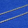 Серебряная цепочка 45 см Двойной Ромб 2,5 мм 90106204041