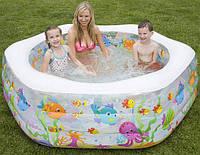 Intex Интекс 56493 Детский надувной бассейн Океанский риф