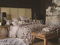 Евро макси набор постельного белья Сатин люкс (Tiare™) №1T