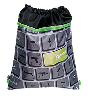 ZB16.0309GM Сумка для взуття та спортивної форми Game з карманом 35*43см