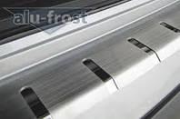 Защитные накладки на задний бампер Alu-Frost