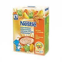 Молочная каша Nestle мультизлаковая яблоко груша абрикос с 6 месяцев 200 гр.