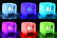 Часы хамелеон светящиеся CX 508, настольные