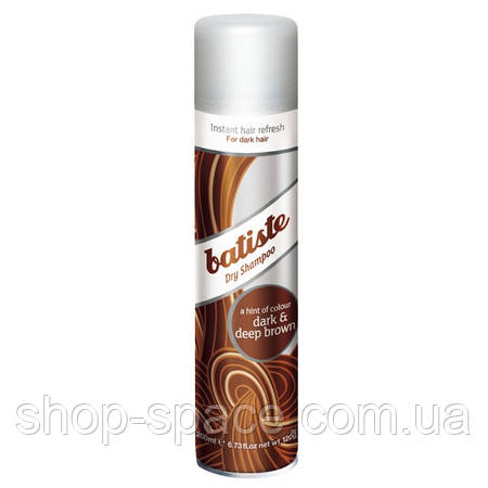 Сухой шампунь Batiste Dry Shampoo Dark & Deep Brown (200 мл)
