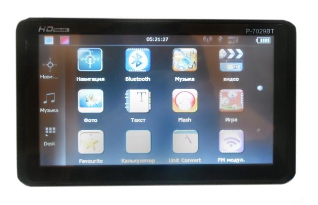 GPS Навигатор Pioneer P 7029 BT + Bluetooth, Видеовход