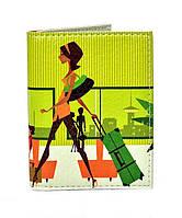 Обложка на ID карту, права и пластиковые карточки эко кожа