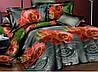 Полуторный набор постельного белья Ранфорс 126