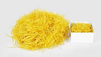 Наполнитель - бумажный, тишью цвет: желтый