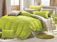 Евро макси набор постельного белья Сатин люкс (Tiare™) №2T