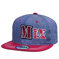 Бейсболка для мальчика с прямым козырьком MIX