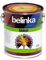 Belinka lasur (Белинка лазурь) 2.5л, пиния №25, Деревозащитное средство с ультрафиолетовым фильтром