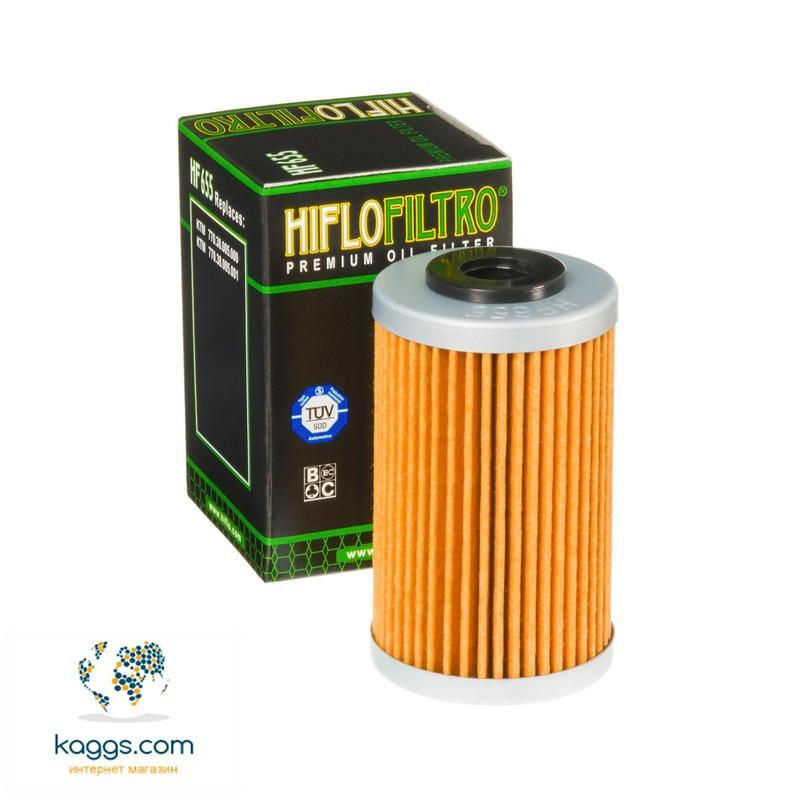 Масляный фильтр Hiflo HF655 для Husaberg, Husqvarna, KTM.