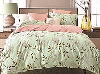 Евро макси набор постельного белья Сатин люкс (Tiare™) №15T