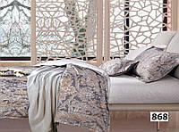 Евро макси набор постельного белья Сатин люкс (Tiare™) №868