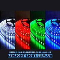 "Светодиодная лента ""LC"" 12 V 5050 60 диодов/метр 14.4W RGB, без силикона"