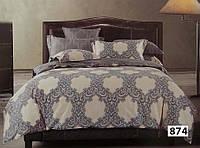 Евро макси набор постельного белья Сатин люкс (Tiare™) №874