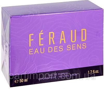 Feraud Eau Des Sens EDP 50 ml парфумированная вода жіноча (оригінал оригінал Франція)
