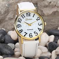 Часы наручные женские Geneva (White Watch)