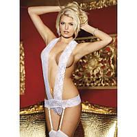 Сексуальное открытое боди Holly с подвязками