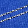 Срібний ланцюжок Лав панцирне плетіння 50 см 90123103541