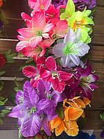 Искусственный букет, тканевый цветок, разные цвета в упаковке