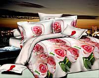 Двуспальный набор постельного белья Ранфорс 127